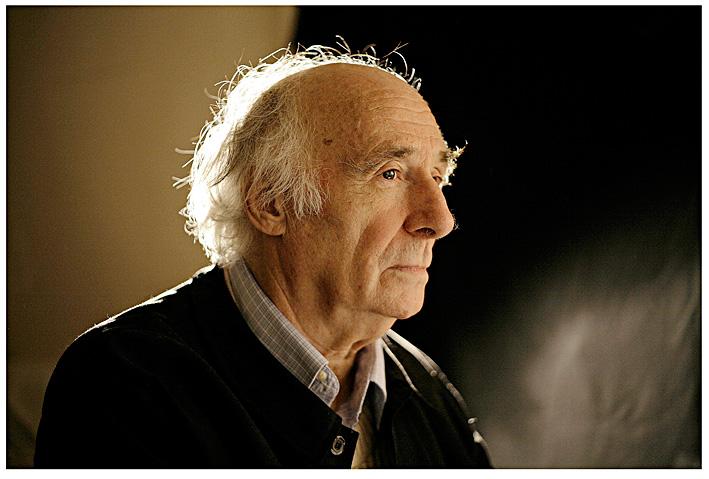 Jacques Roubaud par Olivier Roller - (c) O. Roller, 2008